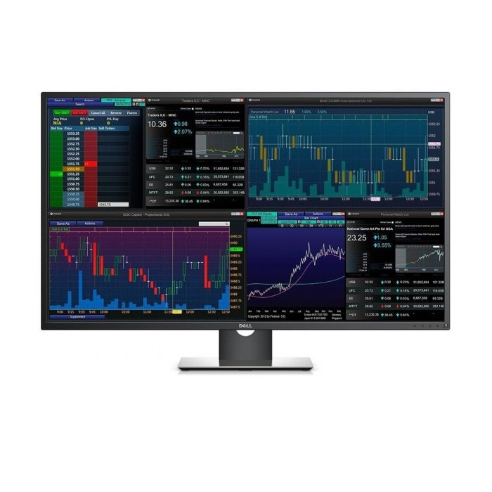 "43"" DELL LED P4317Q 8ms 60Hz HDMI miniDisplayPort Monitör Siyah 3840x2160"