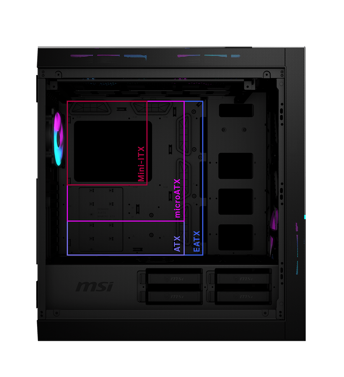 MSI MPG SEKIRA READY FOR ALL MOTHERBOARDS